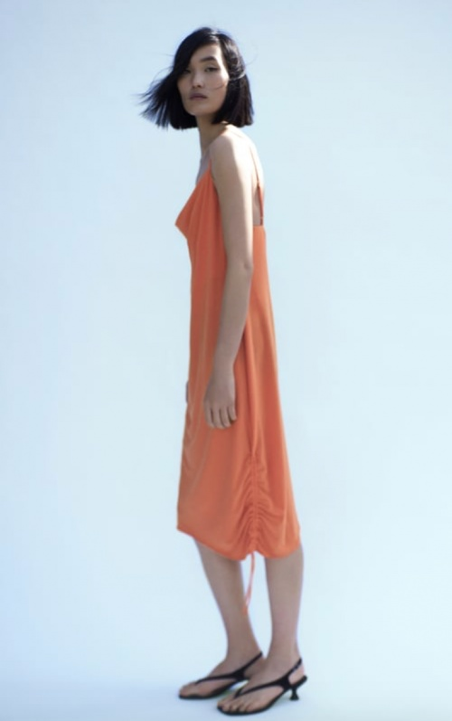 Zara - Robe nuisette satinée