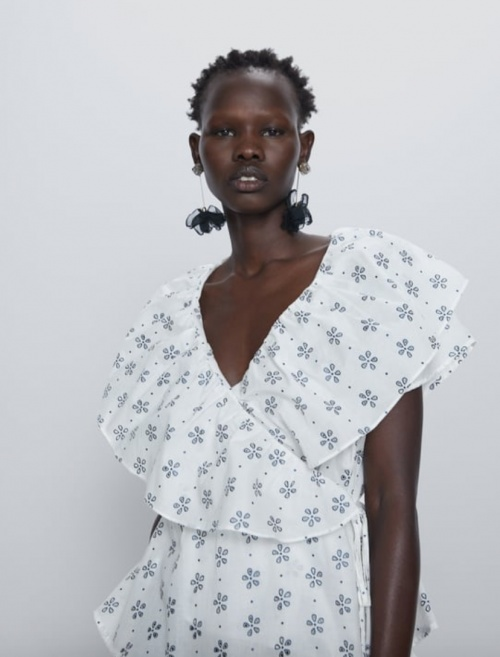 Zara - Blouse imprimée