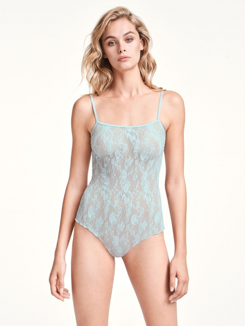 Wolford - Body turquoise