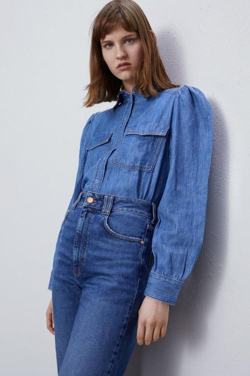 Zara - Chemise en jean