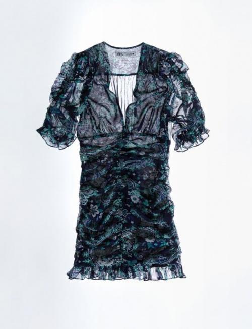 Zara - Robe drapée