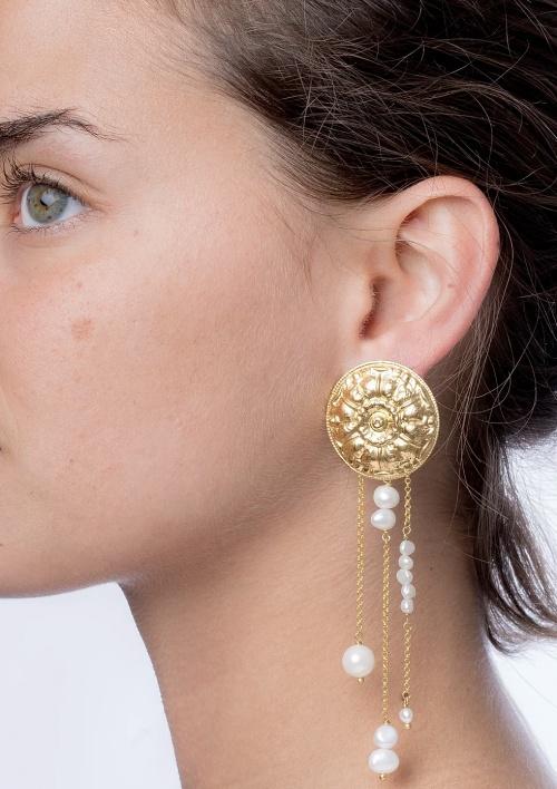 SIGAL - Boucles d'oreilles à perles