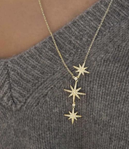 APM Monaco - Collier étoiles
