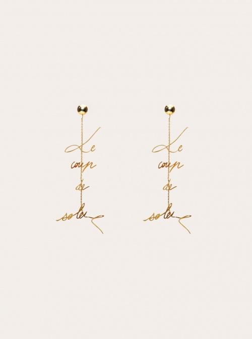 JACQUEMUS - Boucles d'oreilles pendantes