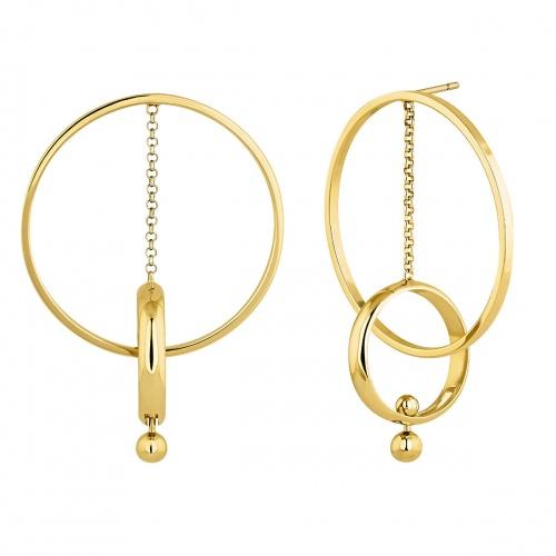 Aristocrazy - Boucles double anneaux