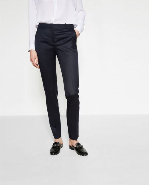 The Kooples - Pantalon de tailleur bleue marine