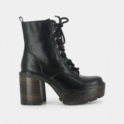 Jonak - Bottines à talons & lacets