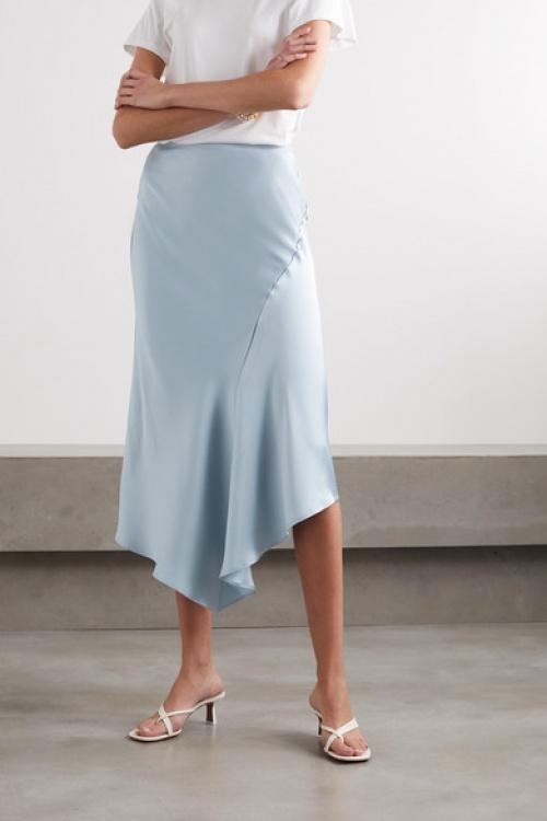 Anine Bing - Jupe midi bleu clair
