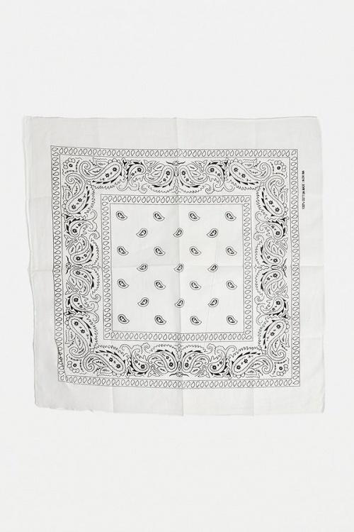 Urban Outfitters - Bandana blanc