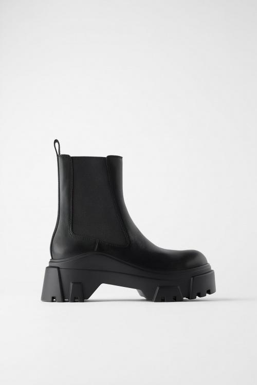 Zara - Boots crantées