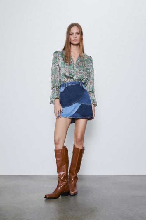 Zara - Jupe en jean
