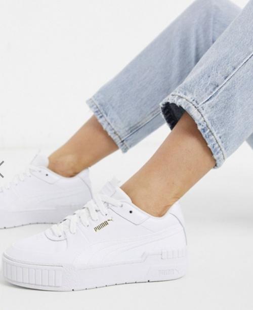 Puma - Baskets blanches