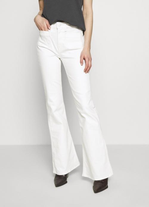 Lee - Jean blanc flare