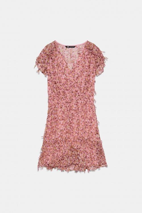 Zara - Robe à fleurs