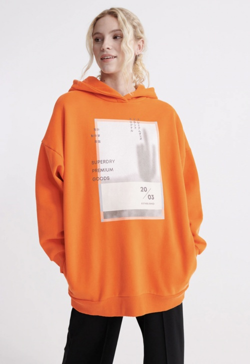 Superdry - Sweat à capuche oversize
