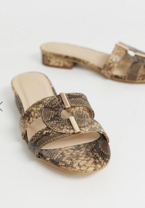 Oasis - Sandales sérpent