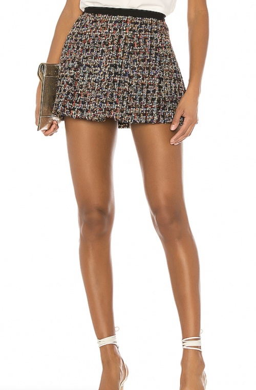 Amanda Uprichard - Jupe short en tweed