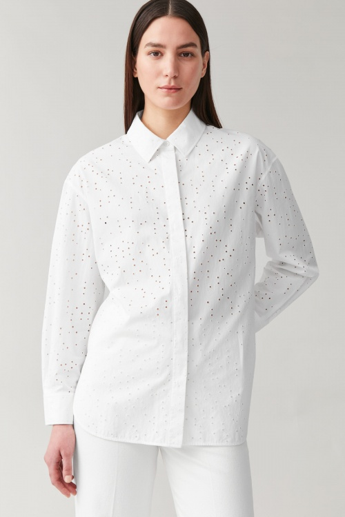 COS - Chemise broderies