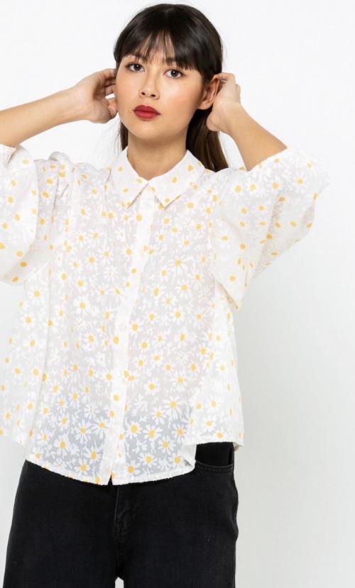 Camaieu - Chemise à marguerites