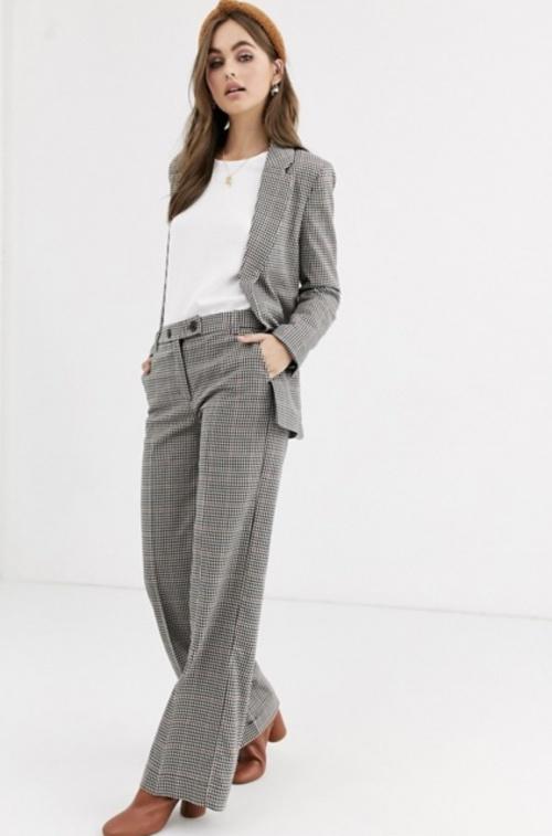Pimkie - Pantalon de costume à carreaux