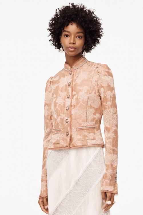 Zara - Veste en jacquard