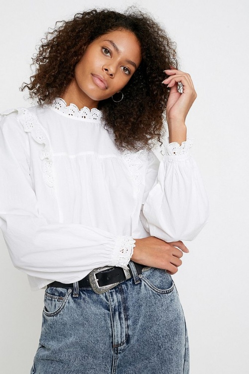 Urban Outfitters - Blouse romantique