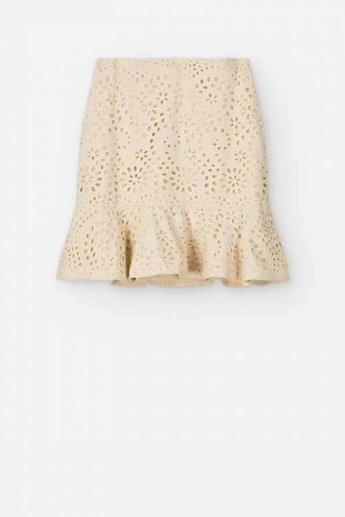 Vanessa Bruno - Mini jupe brodée