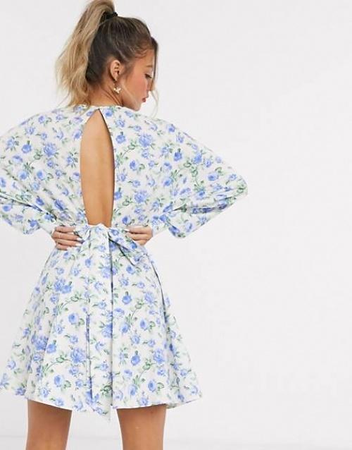 ASOS DESIGN - Robe fleurie