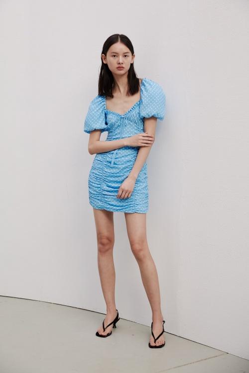Zara - Robe froncée