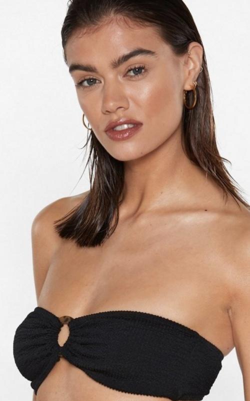 Nastygal - Haut de bikini avec anneau
