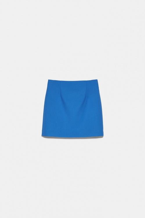 Zara - Mini jupe à pinces