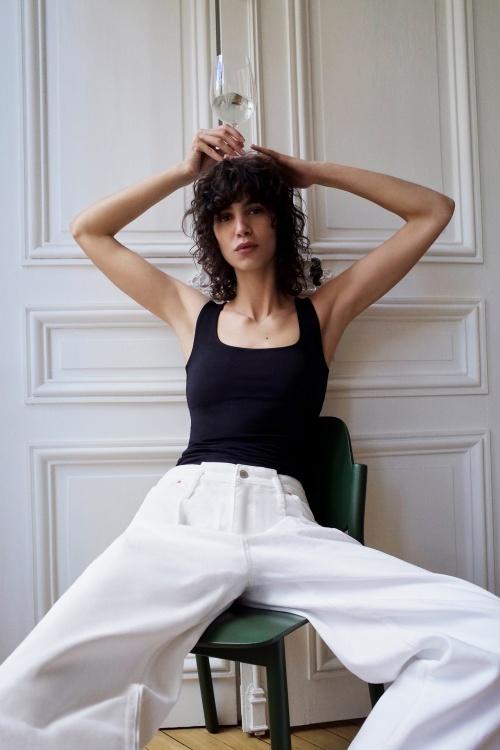 Zara - Jean XL blanc