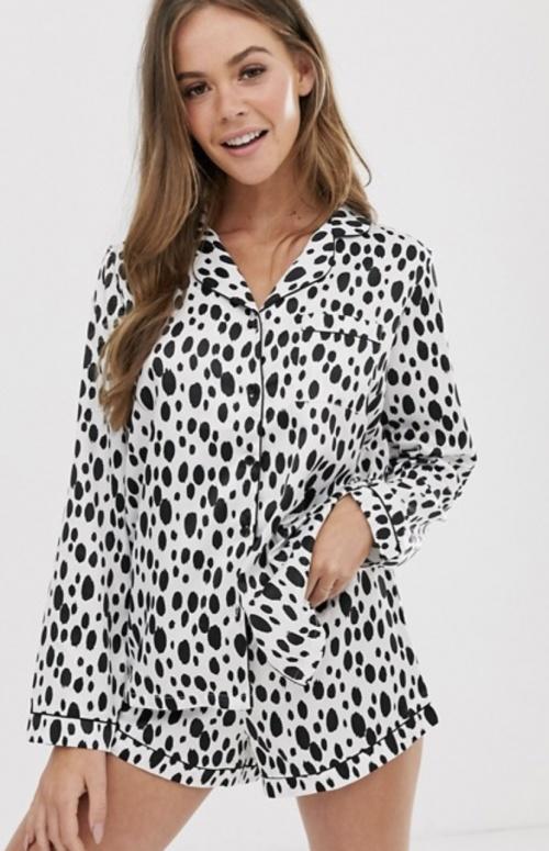 Loungeable - Pyjama en satin