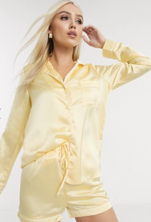 Missguided - Pyjama en satin