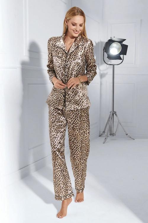 Madeleine - Pyjama léopard