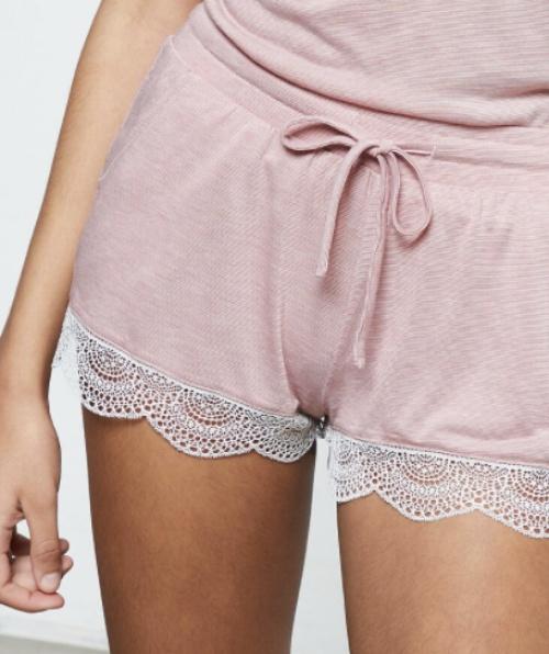 Etam - Short de pyjama avec dentelle