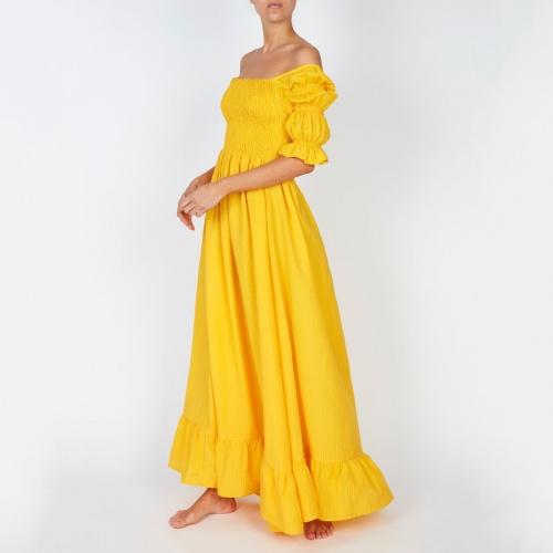 Evarae - Robe jaune