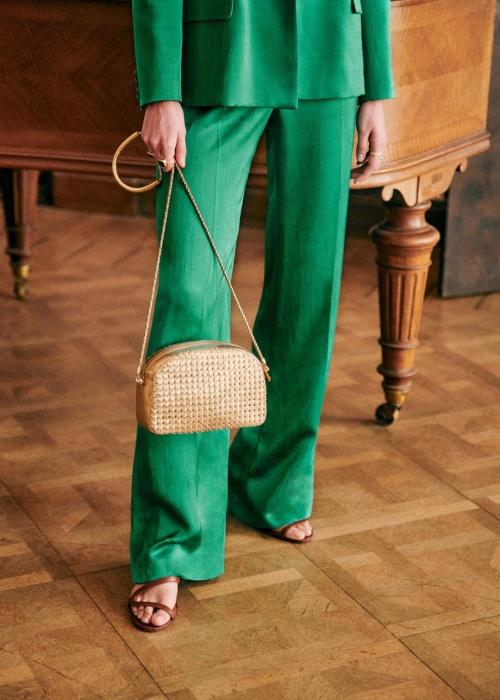 Sézane - Pantalon vert