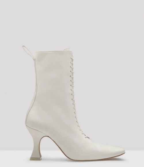 MIISTA - Bottines blanches