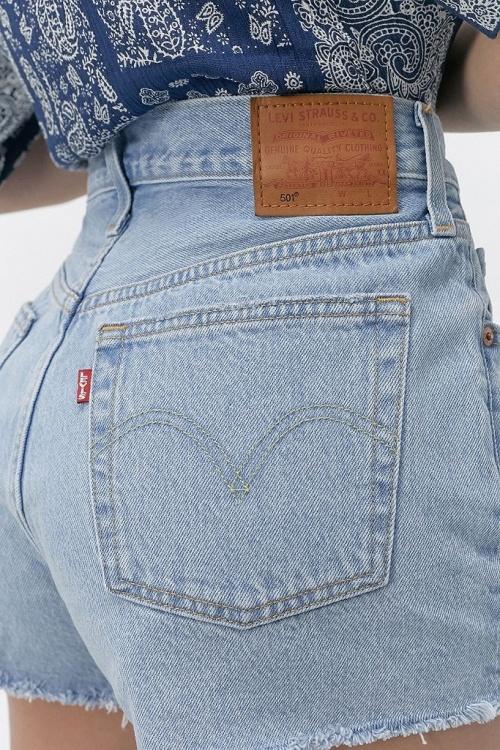 Urban Outfitters - Short en jean Levis