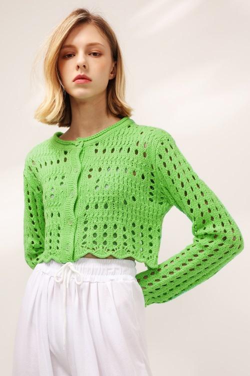 Storets - Cardigan en crochet