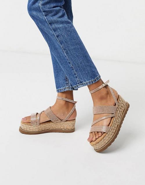 Asos - Sandales compensées