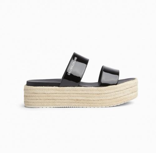 Calvin Klein - Sandales compensées