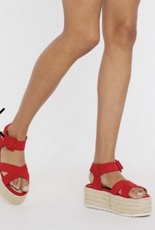 Nastygal - Sandales compensées