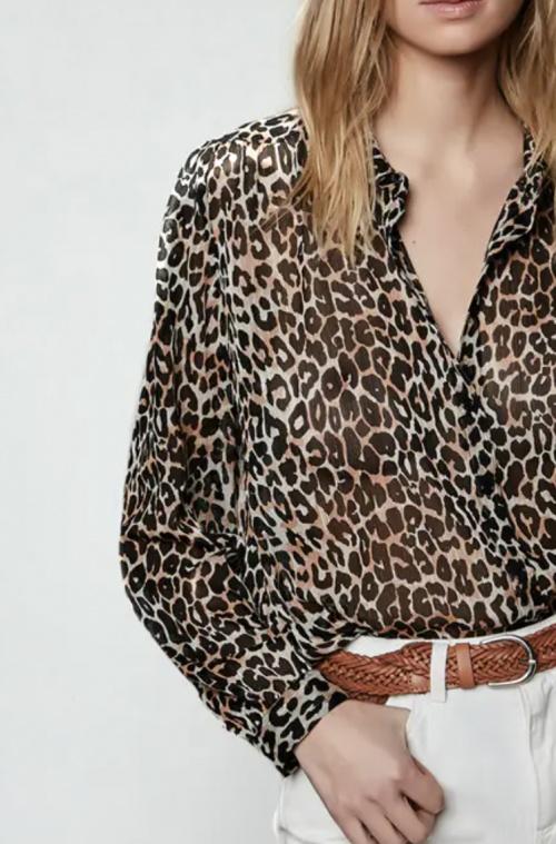 ZAPA - Blouse léopard
