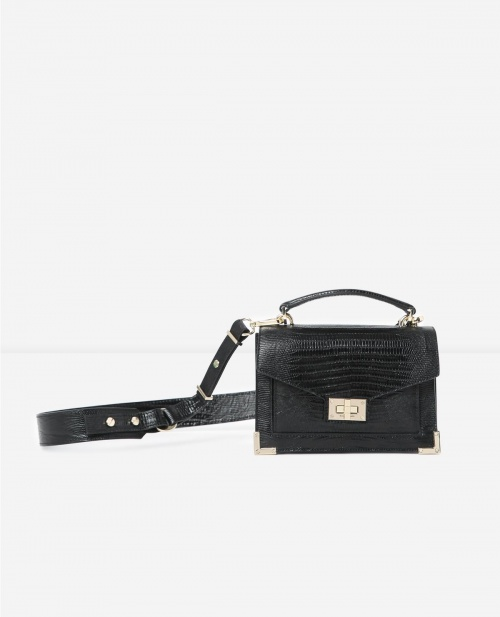 The Kooples - Sac en cuir noir