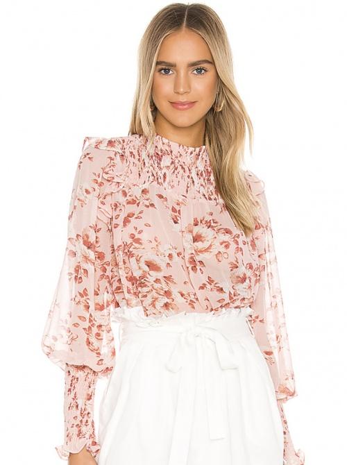 Bardot - Blouse rose