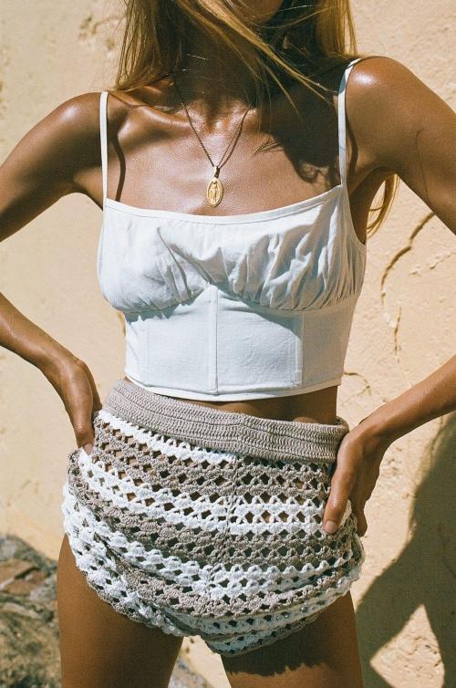 Sabo Skirt - Crop top