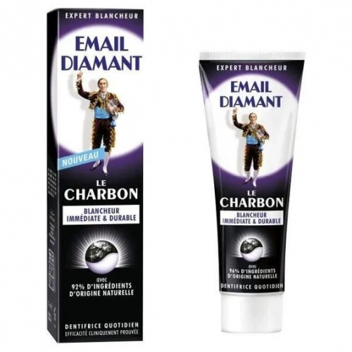 Email Diamant - Dentifrice Charbon