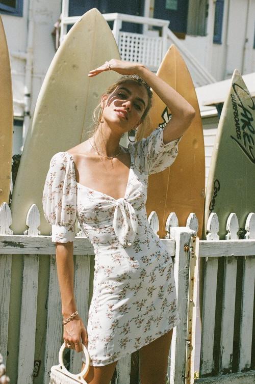 Sabo Skirt - Robe fleurie